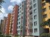 Zateplené panelové domy s novou fasádou