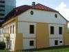 Nová fasáda starší budovy