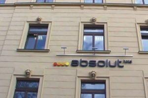 Fasáda hotelu ABSOLUT, Praha
