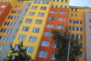 Ulice Cíglerova - střešní nástavby