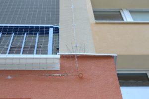 Ochranné sítě proti ptactvu