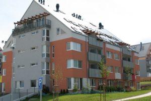 Bytové domy po rekonstrukci fasády