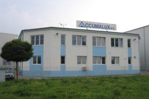 Sídlo firmy Accamalux v Mladé Boleslavi