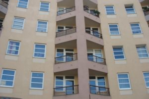 Stavba obytného domu - balkony
