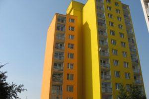 Barevné pojetí panelového domu