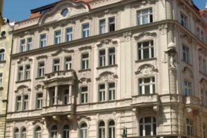 Historické fasády - rekonstrukce v Praze