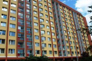 Zateplení fasády panelového domu
