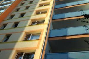 Rýmařovská detail fasády