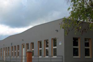 SOŠ Stavební a Zahradnická - nízká budova