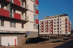 Novostavba bytových domů