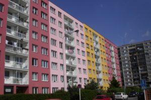 Praha 4, ulice Papírnikova. č. 609-19
