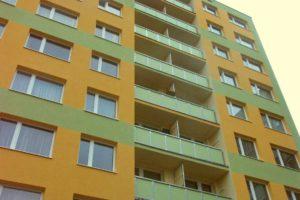 Výměna oken a revitalizace balkónů