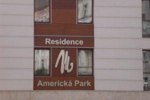 Fasáda Americká Park residence