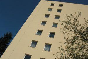 Zateplení fasády v ulici Řešovská