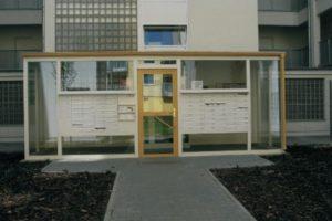 Rekonstrukce vstupního portálu
