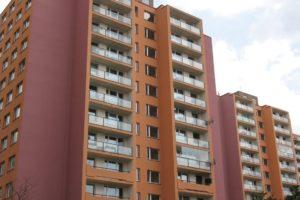 Zateplené fasády na panelových domech